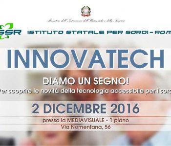 innovatech talking hands giornata mondiale sordi